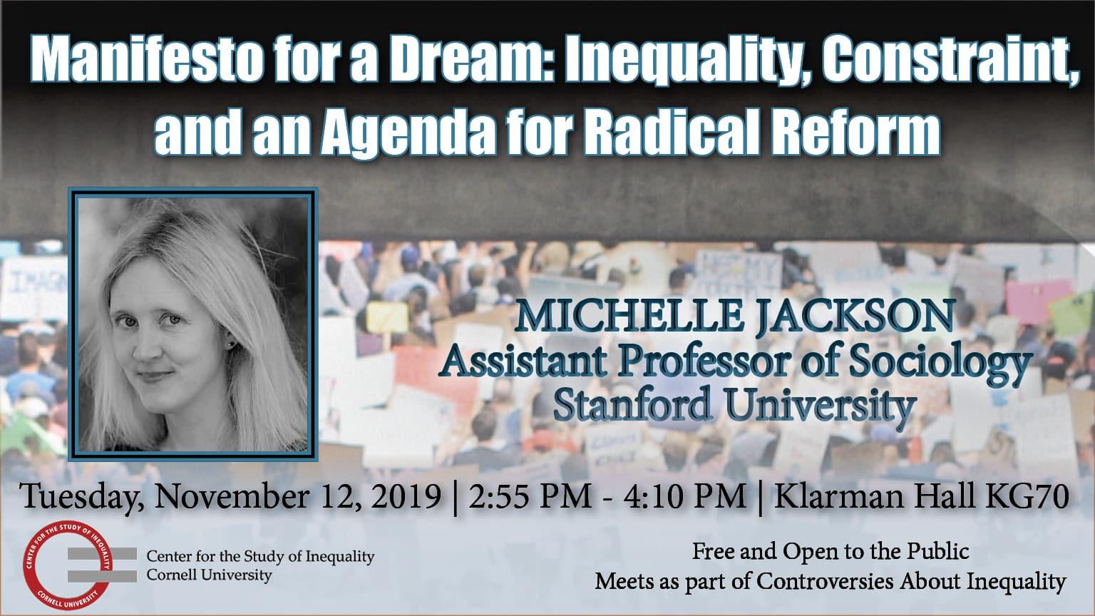 Michelle Jackson Event PowerPoint slide